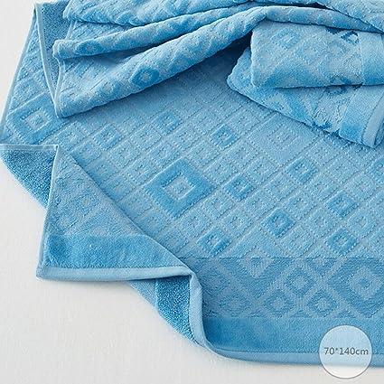 ZLR Toalla de baño de uso doméstico de algodón puro Toalla de baño absorbente de la