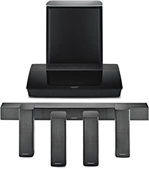 Bose Lifestyle 650 Home Entertainment System, works with Alexa - Black