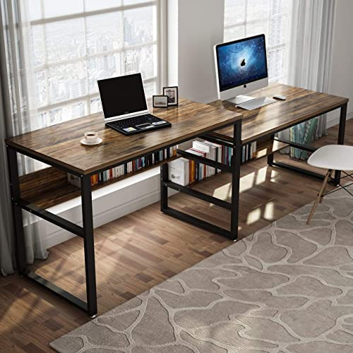 Tribesigns 94.48 Inches Two Person Desk