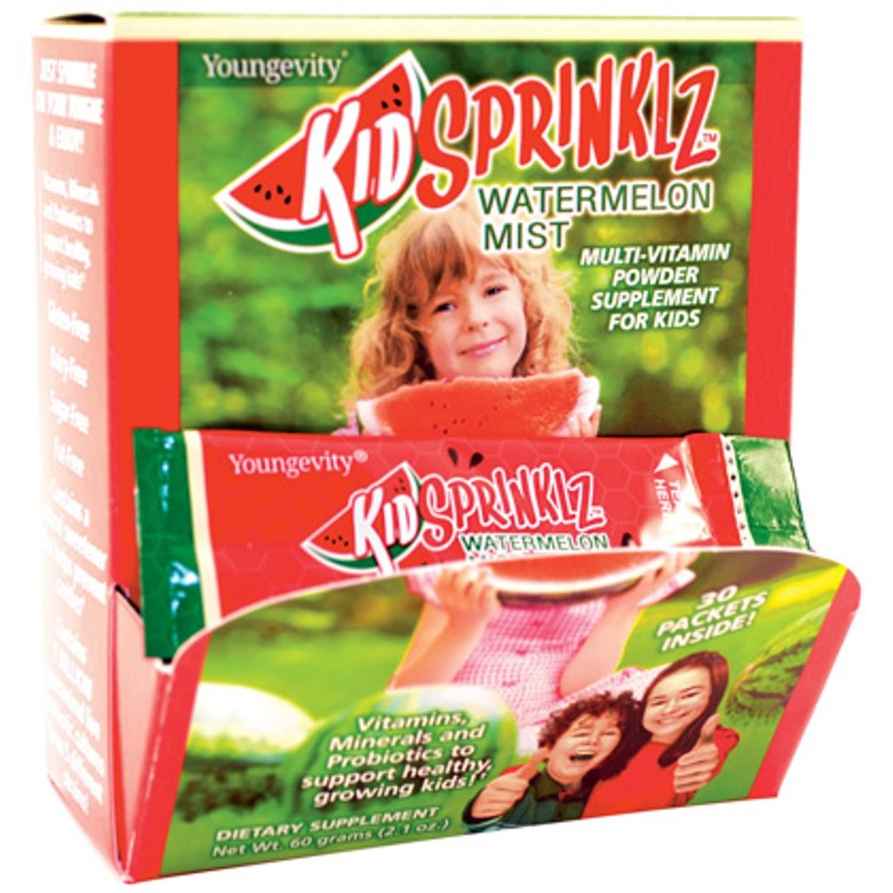 Kidsprinklz Watermelon Mist – Multi-vitamin Powder, 60g 2.1oz