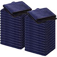 Wemk Microvezel Schoonmaakdoeken, 30 Stuks Premium Microvezeldoeken, Multifunctionele Reinigingsdoeken voor Thuis…