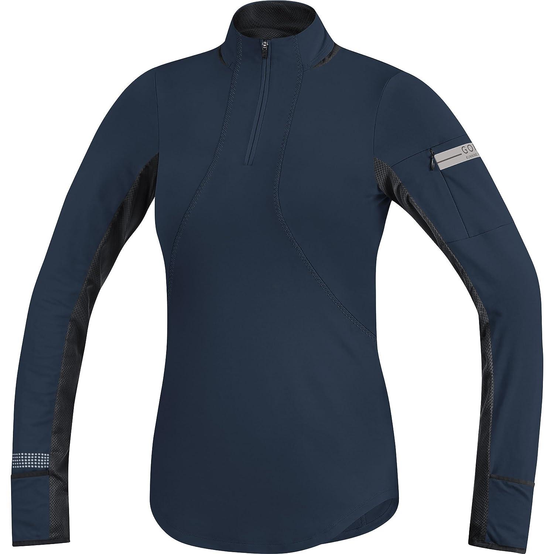 GORE WEAR Running Wear Womens Long Sleeve Shirt Air Zip