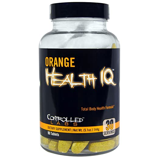 Controlled Labs, Orange Health IQ, 90 Tablets