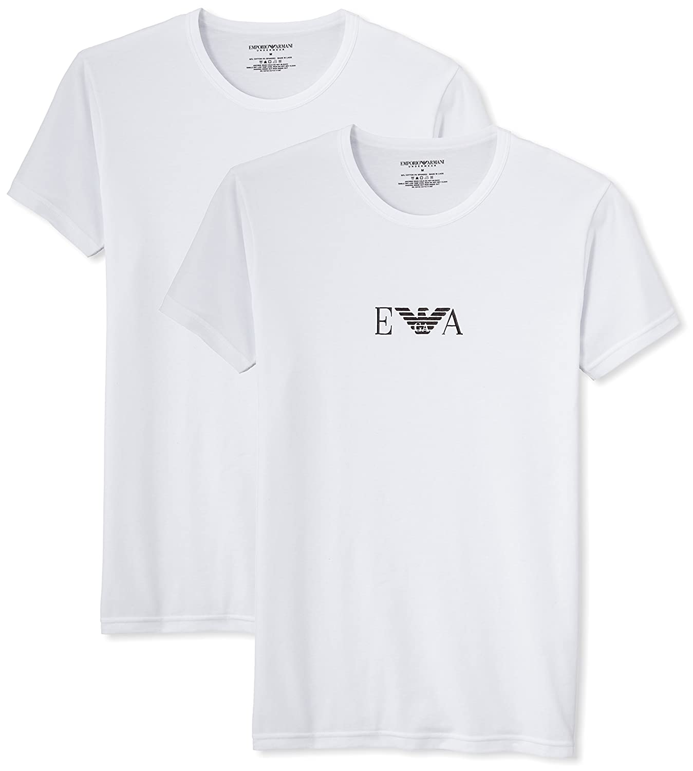 basic T-shirt - White Emporio Armani Buy Cheap Shop Free Shipping Latest Collections Best Place Sale Real Best Wholesale Online ifwsa66