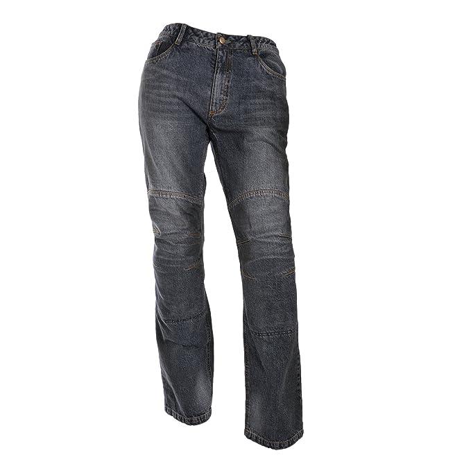 RICHA Exit Kevlar moto de jeans - Motocicleta Jeans: Amazon ...