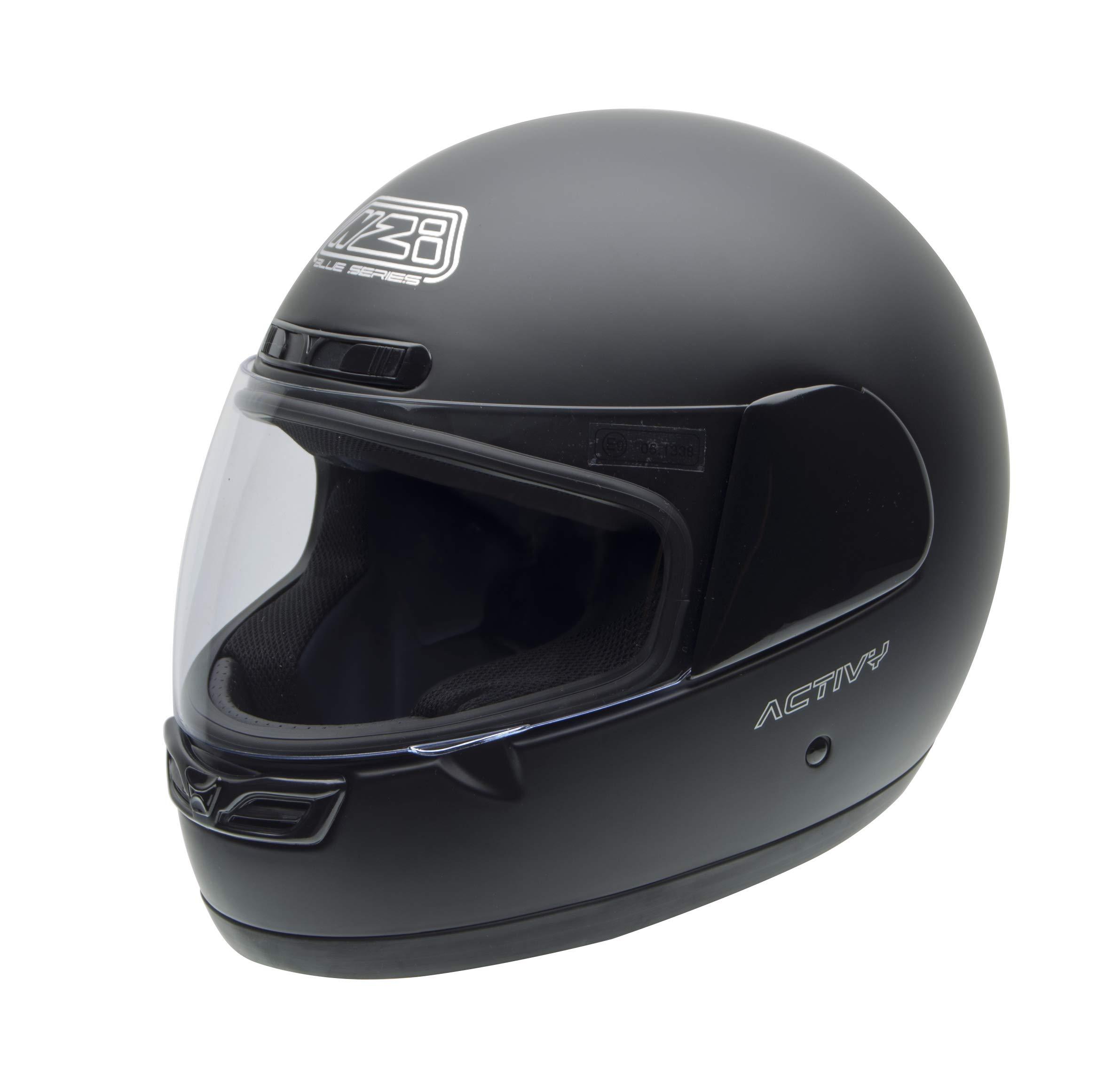 NZI Activy Casco de Moto, Negro Mate, 57 (M) product image
