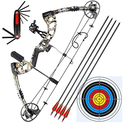 Amazon Com Barchery Compound Bow Draw Length 23 5 30 5 Draw