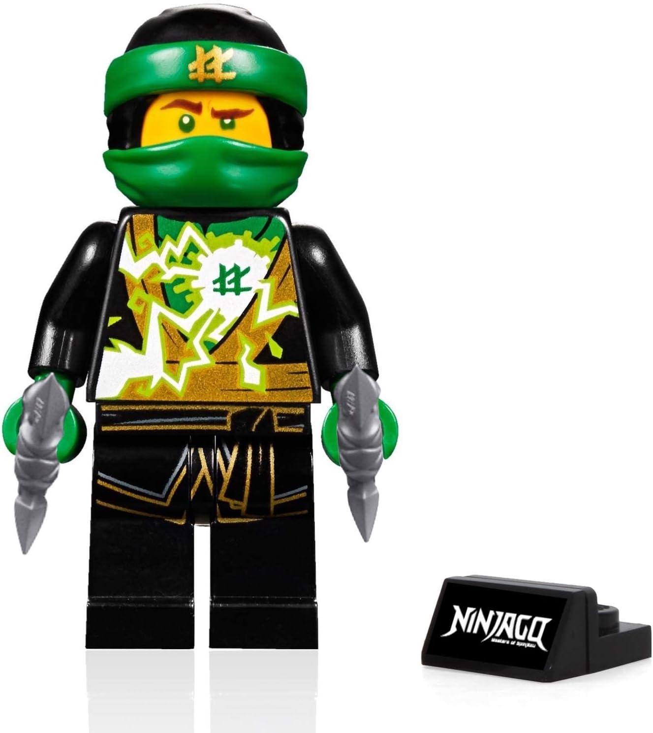 LEGO Ninjago Minifigure - Lloyd (Spinjitzu Masters) - Sons of Garmadon with Display Stand 70640