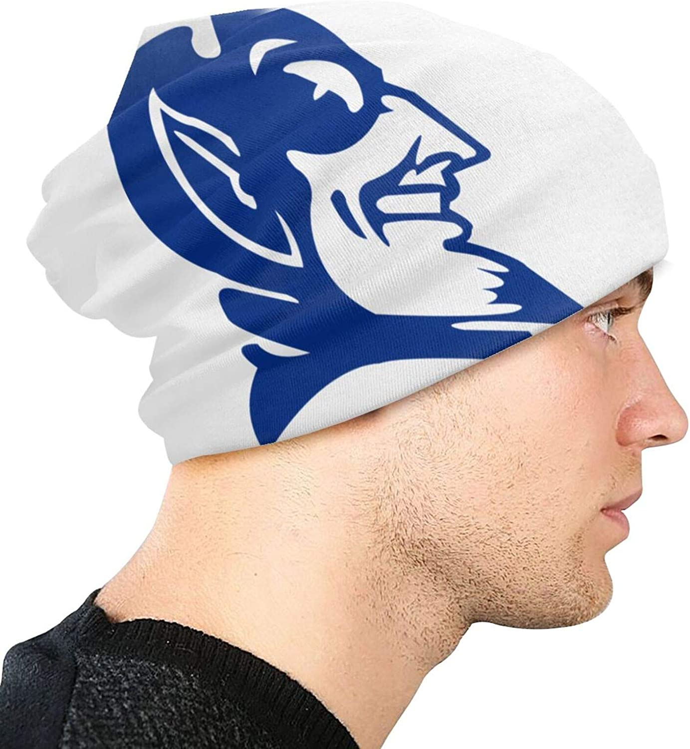 Duke Blue Devils Adult Beanie Hats Knitted Hats Casual Beanie Hats Outdoor Warmth in Autumn and Winter Unisex Cotton Fashionable and Fashionable Knitted Hats