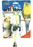 JW Pet Company Activitoy Disco Ball Small Bird Toy, Colors Vary