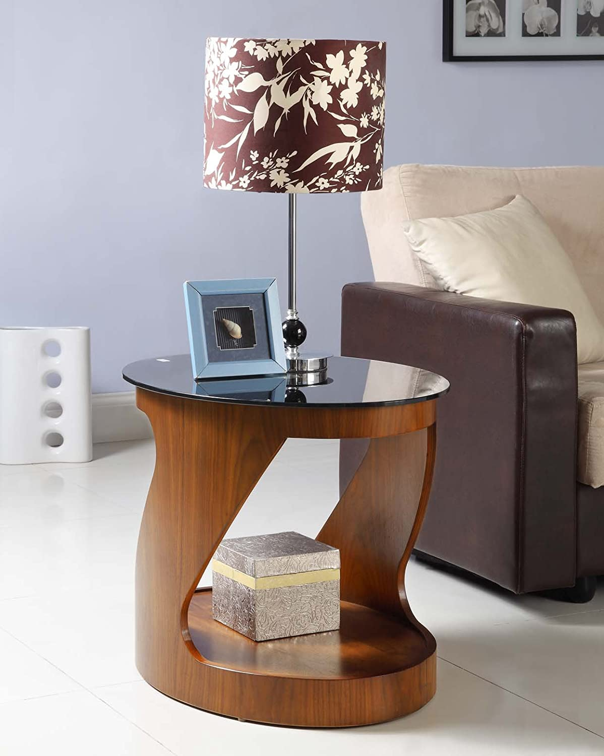 Jual curve jf304 oval lamp table amazon kitchen home geotapseo Image collections