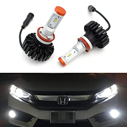 Amazon Com Ijdmtoy 2 High Power Led Headlight Bulbs H11 H8 H9