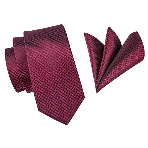 Corbatas De Seda For Hombres Corbata Roja De 160 Cm De Largo ...