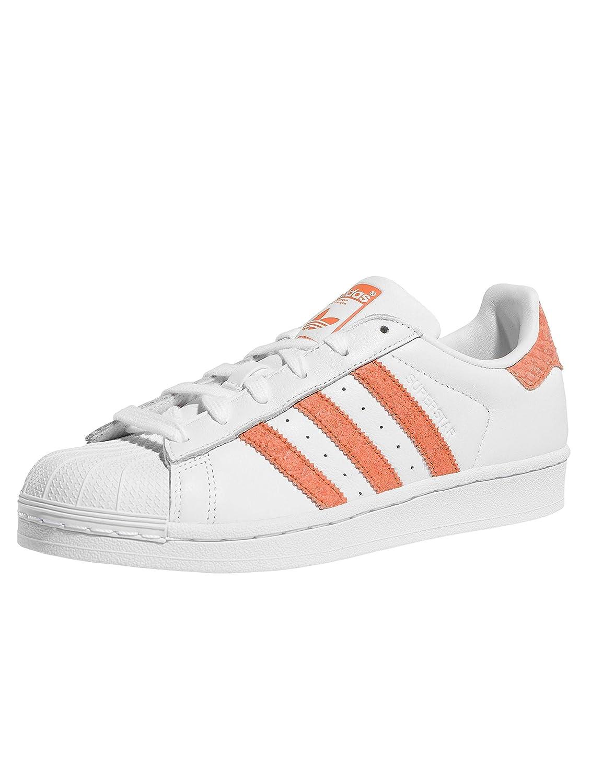 adidas Originals Superstar W Weiße Schlange Leder Erwachsene