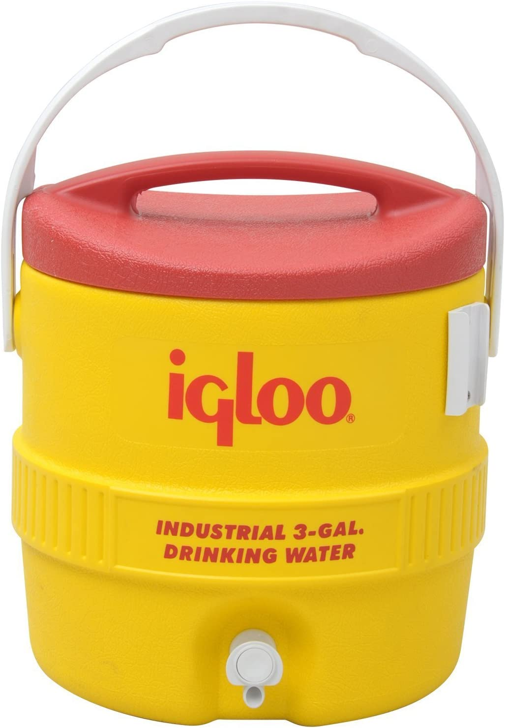 Igloo 385-431 400 Series Coolers, 3 gal, Red/Yellow
