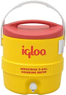 product image for Igloo 385-431 400 Series Coolers, 3 gal, Red/Yellow