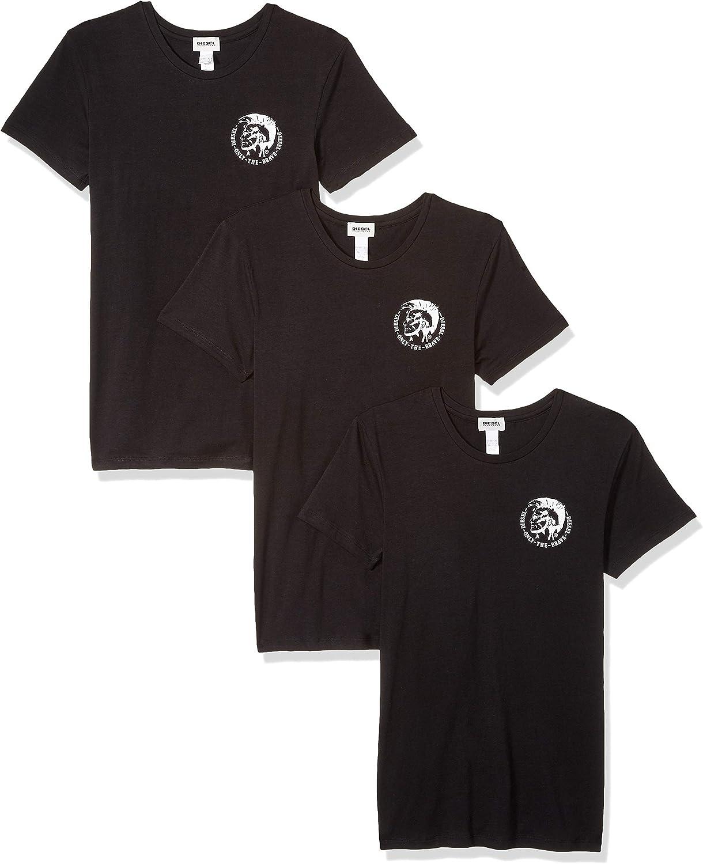 Diesel Umtee-randalthreepack Camiseta de Tirantes (Pack de 3 para Hombre