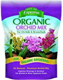 Espoma OR4 Organic Orchid Mix Potting Soil, 4-Quart