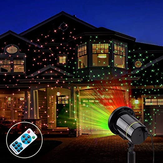 garden lightsyehard waterproof landscape projector outdoor light for christmas decoration halloween party with remote