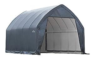 ShelterLogic Garage-in-a-Box SUV/Truck Shelter, Grey, 13 x 20 x 12 ft.