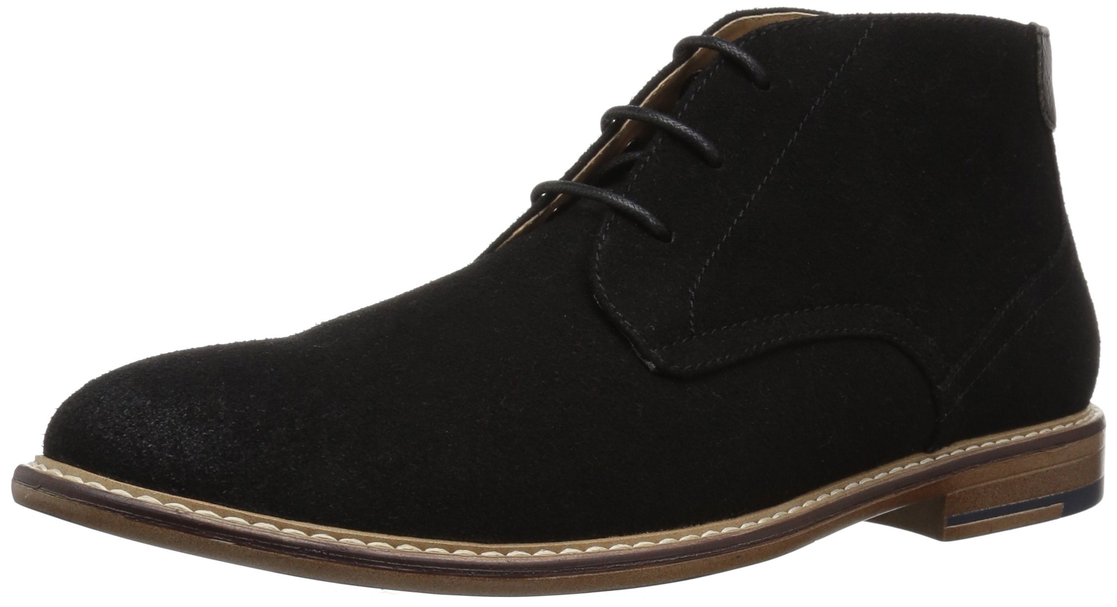 Madden Men's M-Gamma Chukka Boot, Black Suede, 9 M US