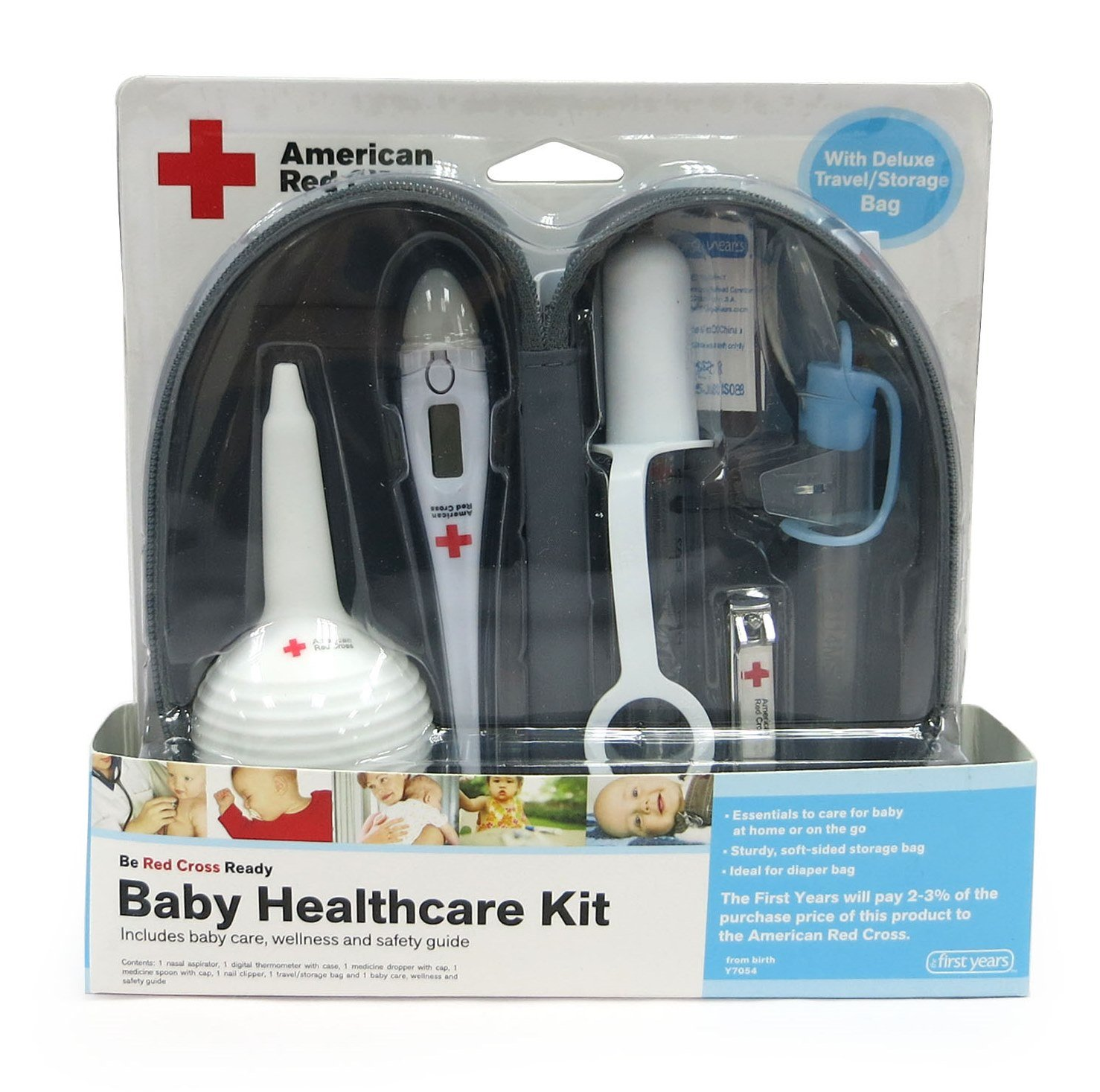 Amazon.com : The First Years American Red Cross Baby Healthcare Kit ...