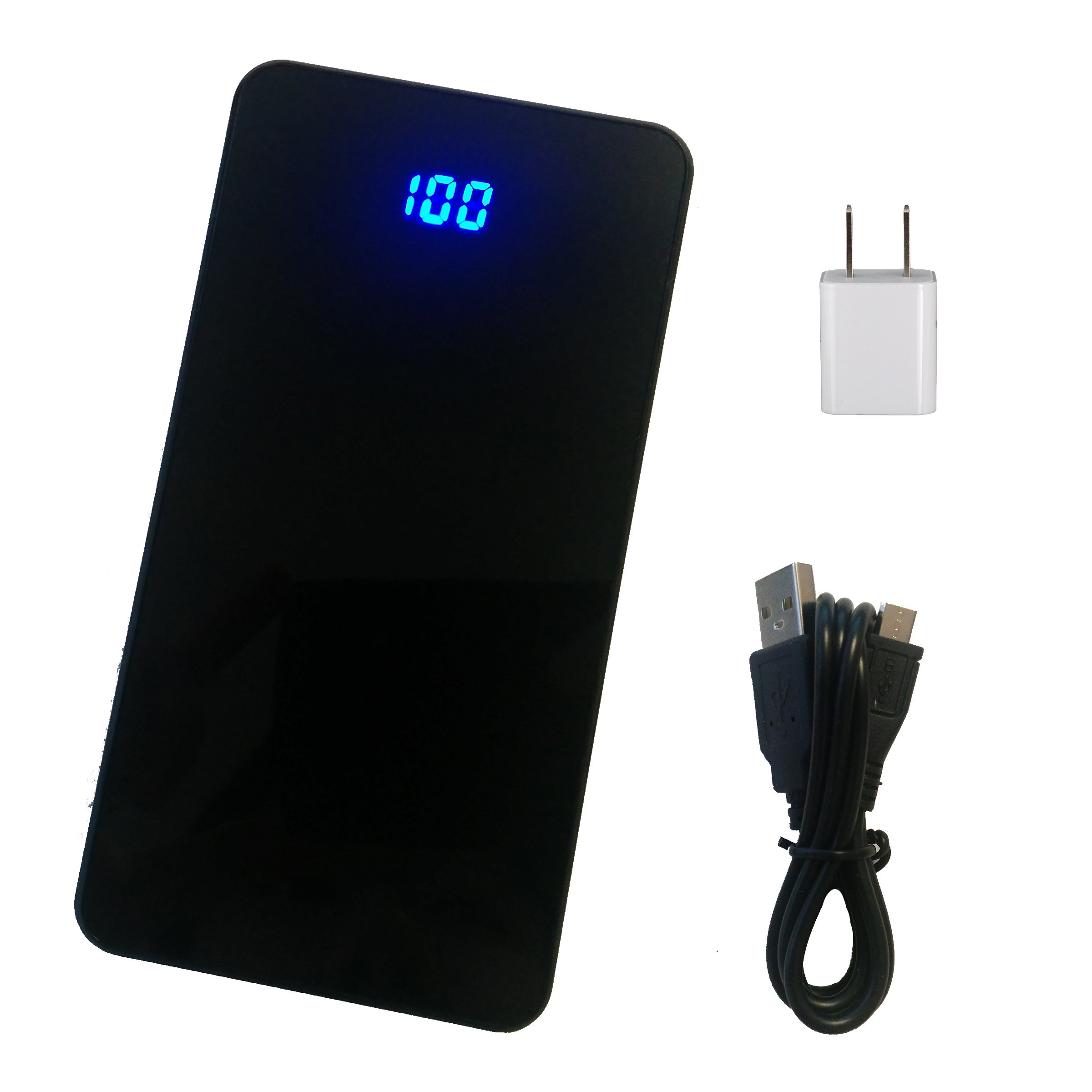 Power Bank and USB Wall Charger for LG Connect 4G - 5000mAh Capacity