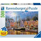 Ravensburger -Ships Aglow - 500 pc Large Format Puzzle