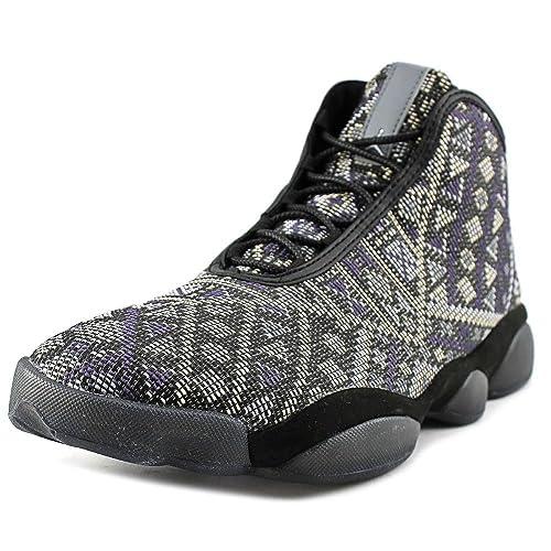 pretty nice 83ba3 9e4da Nike Jordan Men s Jordan Horizon Premium Black Purple Steel Lght CHRCL  Basketball Shoe 14 Men US  Buy Online at Low Prices in India - Amazon.in