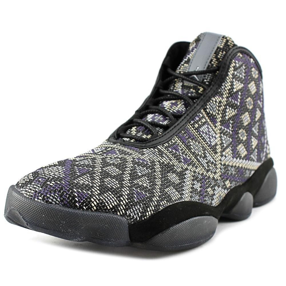 Jordan Nike Men's Horizon Premium Black/Purple Steel/Lght CHRCL Basketball Shoe 14 Men US