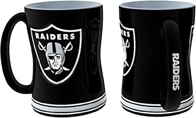 Sculpted Mini Mug Style Oakland Raiders Shot Glass