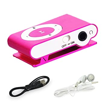 BuycheapDG Reproductor MP3 con clip, portátil, mini USB, MP3 ...