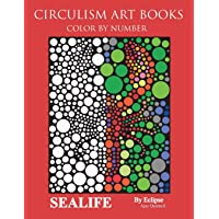 Sealife Color By Number: Circulism Art Books - Standard Paper Edition