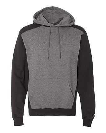 9b8161f01369 Champion S750 - Double Dry Colorblocked Eco Fleece Hooded Pullover  Sweatshirt
