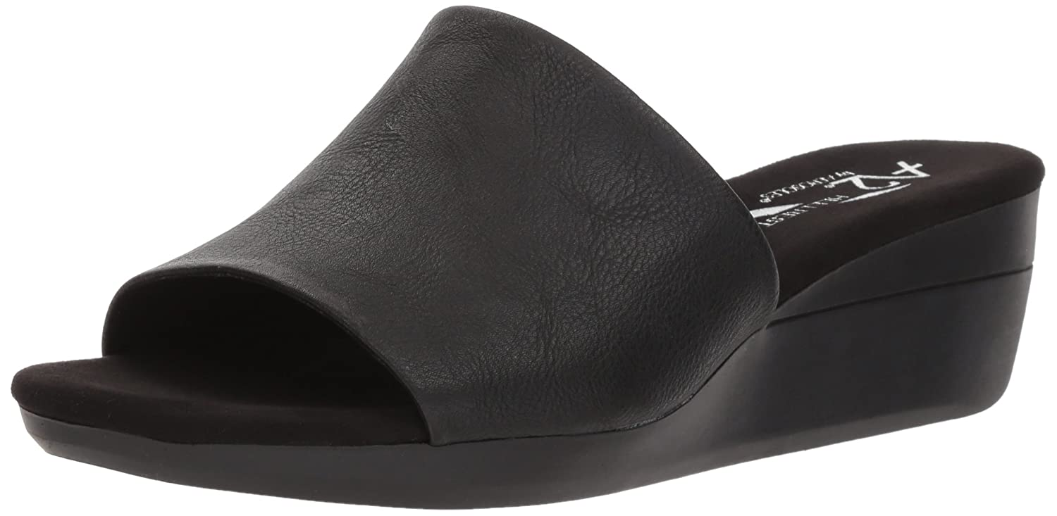 Aerosoles Women's Sunflower Slide Sandal B078WFCTP2 12 B(M) US|Black