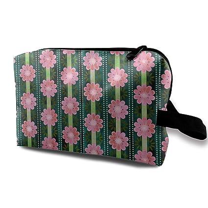 4f9b29b18485 Amazon.com: HHFASN Bali Bali Flower Multifunction Makeup Bag Pouch ...