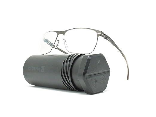 3b7733200fa Image Unavailable. Image not available for. Color  ic! Berlin Julius  Freitag Gunmetal Metal Eyeglasses