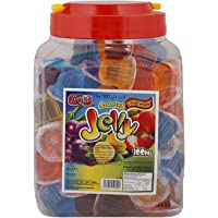 Rico Assorted Fruits Flavor Jelly Cup, 15 gm (Pack of 100)