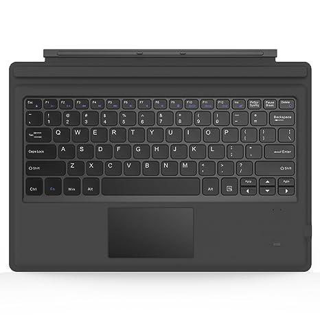 MoKo Surface Pro 6/ 4 / 3 / Pro 2017 Teclado Inalámbrico Bluetooth: Amazon.es: Electrónica
