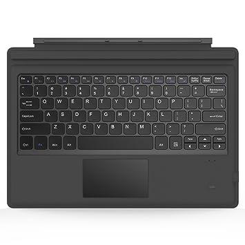 MoKo Surface Pro 6/ 4 / 3 / Pro 2017 Teclado Inalámbrico Bluetooth - Ultra-Slim Wireless Keyboard (QWERTY)  para Microsoft Surface Pro 6/ 4 / 3 ...