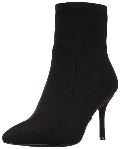 Nine West Women s Cadence Ankle Bootie Black 5.5 ... a34bb4487a