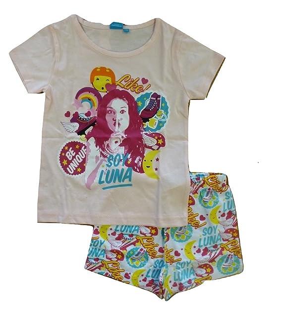 Soy Luna SLFS27405, Camiseta Para Niños, Rosa (light Pink/multi), 6 años: Amazon.es: Ropa y accesorios
