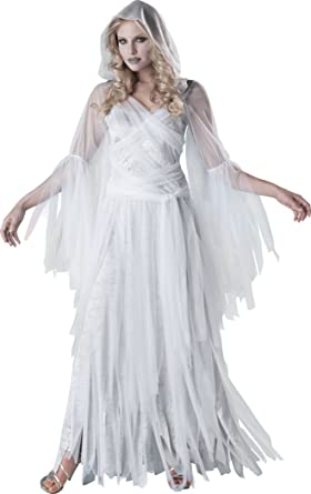 InCharacter Costumes Womenu0027s Haunting Beauty Ghost Costume White/Grey Small  sc 1 st  Amazon.com & Amazon.com: InCharacter Costumes Womenu0027s Haunting Beauty Ghost ...