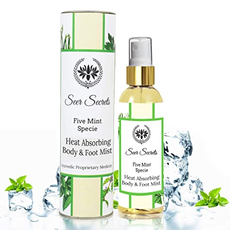 Seer Secrets Five Mint Body & Foot Mist Liquid Air Conditioner (100Ml)