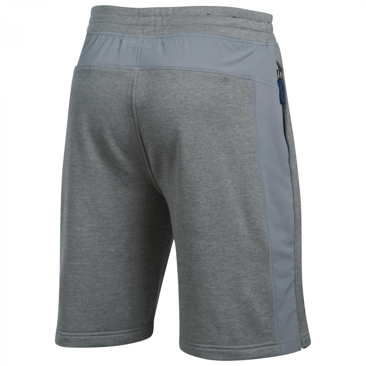 Men's Under Armour Tech Terry Short, Grey Heather/Steel, 4XL x One Size by Under Armour (Image #2)