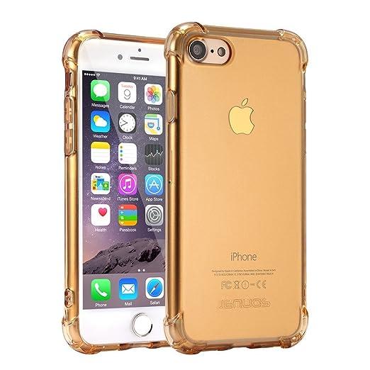 21 opinioni per Cover iPhone 7, Cover iPhone 8, Custodia Jenuos Trasparente Antiurto Paraurti