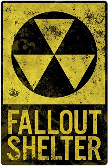 Amazon.com: Fallout refugio estilo vintage cartel 24 x 36 ...