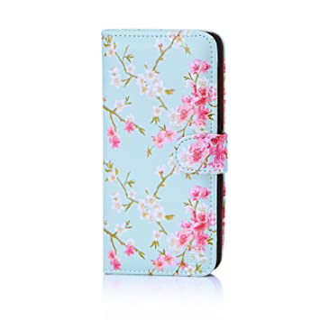 on sale 2a449 172fb 32nd Floral Series - Design PU Leather Book Wallet Case Cover for Nokia 5  (2017), Designer Flower Pattern Wallet Style Flip Case With Card Slots - ...