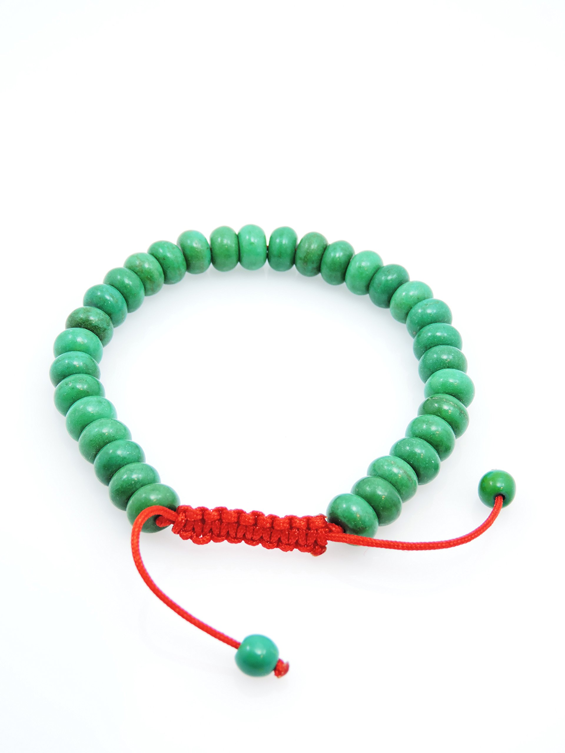 Hands Of Tibet Tibetan Turquoise Wrist Mala/Bracelet for Meditation