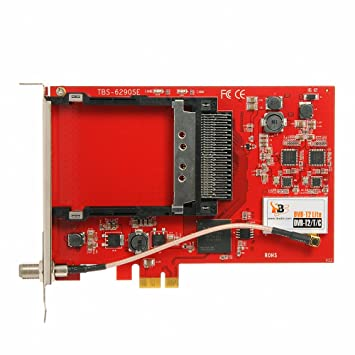 DVB-C Tuner und CI Common Interface Slot f/ür PayTV DVBSky T980C V2 PCIe Karte mit 1x DVB-T2